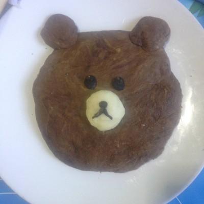 กระทงขนมปังหมีบราวน์