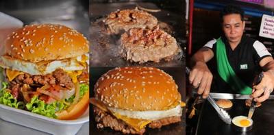 """Binta Burger"" หัวหิน เบอร์เกอร์เนื้อเอาใจคนนอนดึก"