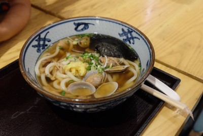 Udon หอยอาซาริ