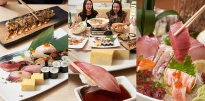 Shinsoko Sushi ร้านซูชิระดับพรีเมียม สด ใหม่ สะเทือนลิ้น ดีต่อใจ!