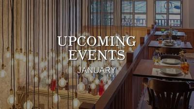 Upcoming Events ประจำเดือนมกราคมมาแล้ว!