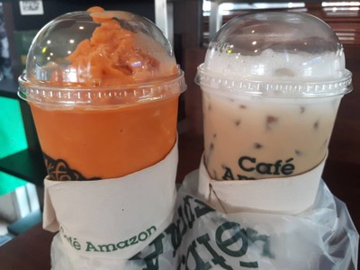Cafe' Amazon ปตท. พระราม 3