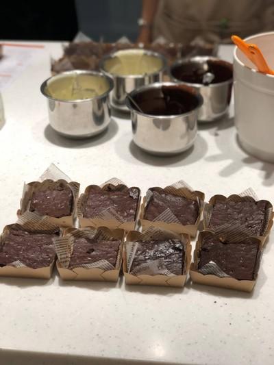 วิธีทำ Chocolate Brownie for Valentines