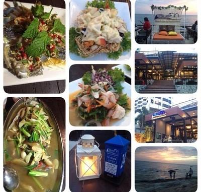 ร ว ว Bluefin Beach Bar Restaurant อาหารซ ฟ ด ว วทะเล