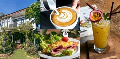 นี่แหละที่ตามหา! กาแฟหอม อาหารดี มีสวนให้นั่งเล่น ที่ ชิคฤดู เชียงใหม่