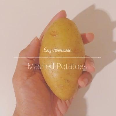 Mashed Potatoes 🥔 (มันบด)