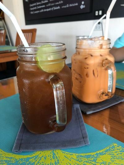 ชามะนาว ชานมไทย