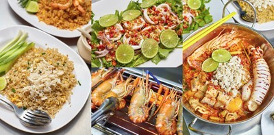 """""""ราชาข้าวผัดปูโคราช""""ซีฟู้ดอลังการ กุ้งใหญ่ ปูเแน่น ฟินเหมือนกินที่ทะเล"""