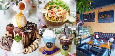 คาเฟ่น่านั่งชลบุรี ไปกี่ทีก็อิ่มใจ @Love Is Cafe ชลบุรี