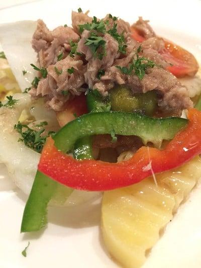 Endive Salad with Tuna