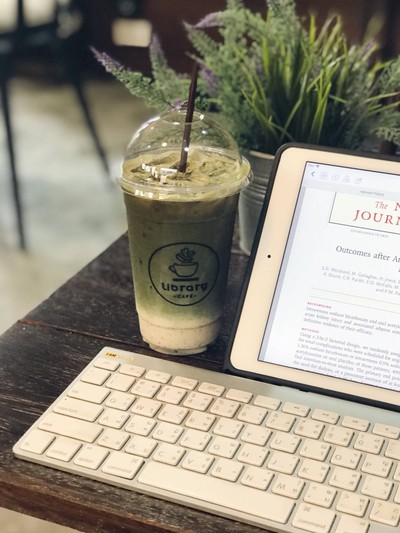 Iced Green Tea Latte Add Espresso Shot
