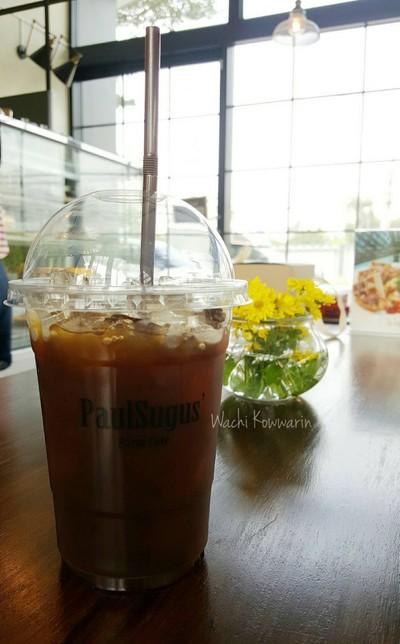 อเมริกาโน่เย็น • ราคา 90 บาท at PaulSugus' Farm Cafe ซ.กาญจนาภิเษก 7