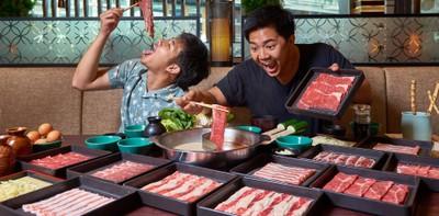 """""""Mo-Mo-Paradise"""" บุฟเฟ่ต์ชาบูชาบู-สุกี้ 4 น้ำซุป กินให้จุกใน 100 นาที!"""