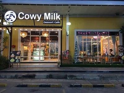 Cowy Milk ถนนเลี่ยงเมืองปากเกร็ดแจ้งวั