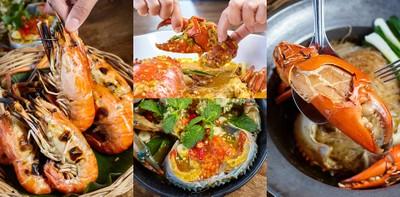 """""""ย้งปูอบ""""โคราช ร้านอาหารทะเลคุณภาพดี อิ่มฟินสุดใจกับปูใหญ่แบบเน้น ๆ"""