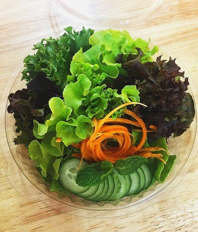 Kin Pak Salad Roll (กินผัก - สลัดโรล) UFM Fuji Super ทุกสาขา