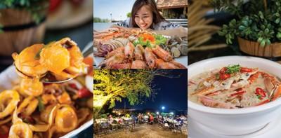 """ร้านอาหารทะเล หาดใหญ่ """"น้ำเคียงดิน"""" ชมวิวเกาะยอ บรรยากาศสุดโรแมนติก"""