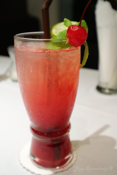 Mixed Berries Soda