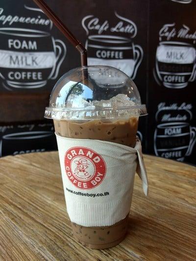 Grand Coffee Boy เอสโซ่ นครชัยศรี