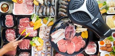 Hosen grill บางแสน บุฟเฟ่ต์ปิ้งย่างไร้ควันแห่งแรกในชลบุรี ราคา 339 บ.