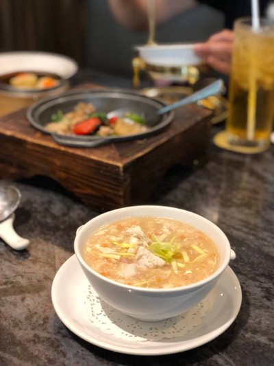 ซุปปูก้อนไข่ข้น(กู่โจ๊ก)ยูนาน