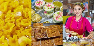 ขนมหวานแม่ทองล้วน โคราช ร้านขนมไทยต้นตำรับโบราณ 20 ปี แห่งตลาดย่าโม
