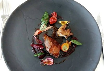 French Pigeon, Beetroot, Marsala