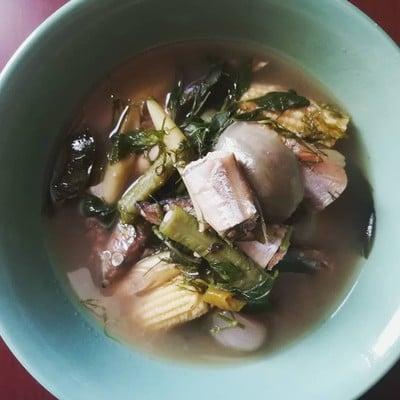 อาหารไทย อ่อมปลาไข่