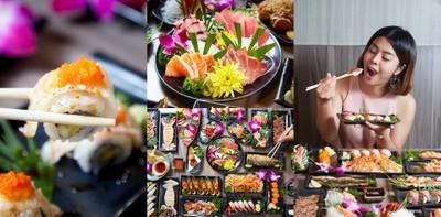 บุฟเฟ่ต์อาหารญี่ปุ่น ศรีราชา อิ่มคุ้ม 599 บาท @One Peace Sushi Buffet