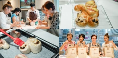 Wongnai Cooking Workshop หอมสุดฟิน~ กับเมนู Ham-Mayo and Cinnamon Roll