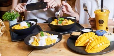 The Mango Garden ร้านของหวานสไตล์ไทย สูตรชาววัง เอาใจคนรักมะม่วง!