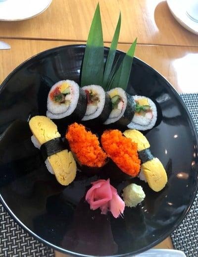 dare sushi salad fruit bar