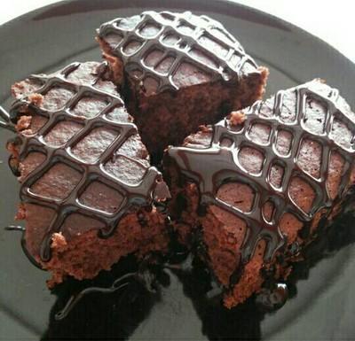 เค้กช๊อกโกแลตหน้ากรอบ