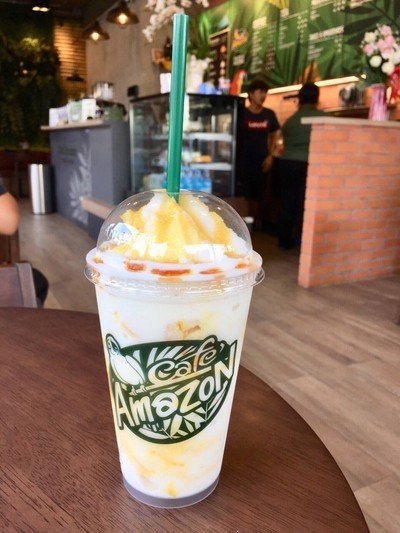 Cafe' Amazon  ขนส่งกาญจนบุรี
