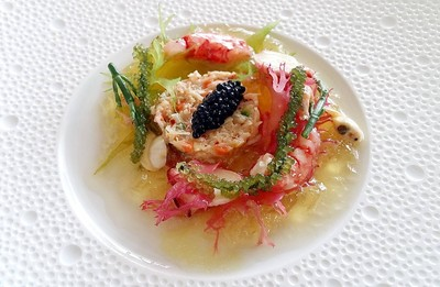 Sea Variation, Herring Roe, and Horseradish