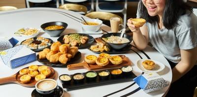 Kanom ร้านขนมหวานหอมกรุ่นจากเตากับ Portuguese Blue Tart สูตรเชฟมิชลิน!
