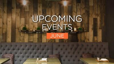 Upcoming Events ประจำเดือนมิถุนายนมาแล้วจ้า!