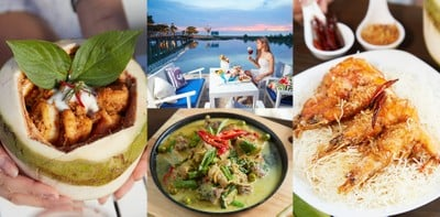 ร้านอาหารไทย ซีฟู้ด บรรยากาศสุดโรแมนติก ใกล้ชิดติดทะเล @Sea Blue พัทยา