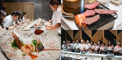 Dinner สุดพิเศษ! Omakase Course กับร้าน Tsukiji Aozora Sandaime