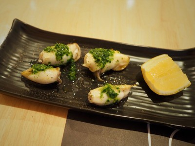 Baby squid With Parsley Sauce##1