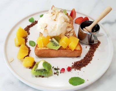 French  Kiss Toast