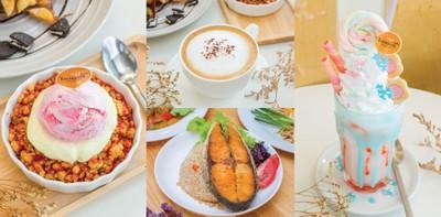 ร้าน Boom Cafe กาญจนบุรี ครบครันอาหารคาว-หวาน จานด่วนฟิน ๆ