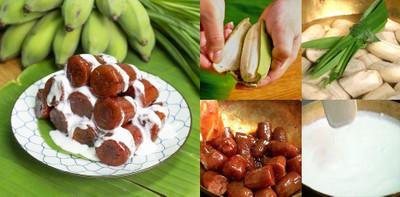 """วิธีทำ """"กล้วยเชื่อมแดง"""" เมนูขนมไทยหากินยาก แต่ทำง่าย!"""