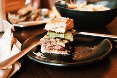 Swiss Mushroom Burger & Curly Fries##1