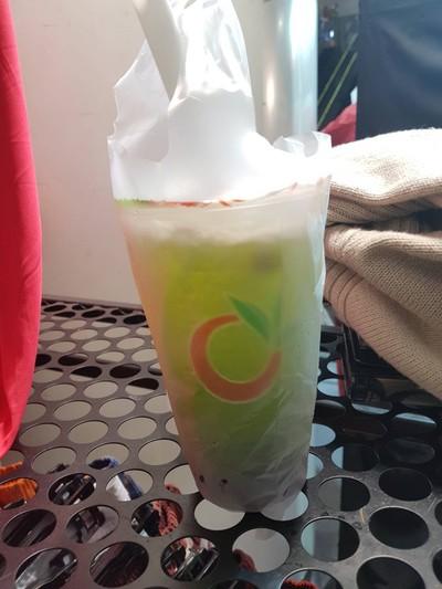 ชาเขียวแอปเปิ้ล (Apple Green Tea)