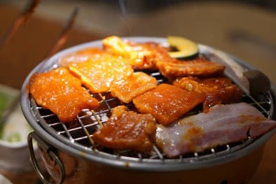 Sukishi Korean Charcoal Grill (ซูกิชิ โคเรียน ชาร์โคล กริลล์) ศูนย์การค้าบลูพอร์ต หัวหิน