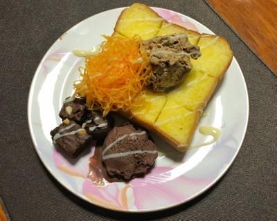 ฮันนี่โทสฝอยทอง โฮมเมด ทำกินง่ายๆที่บ้าน