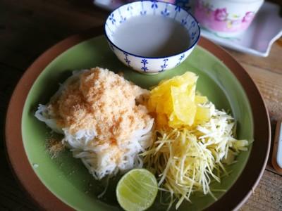 ร้านอาหารบ้านริมคลอง-ขนมจีนปลายิ้ม