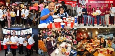 "KFC ได้จัดแคมเปญ ""วันไก่ทอดแห่งชาติ"" เอาใจสาวกคนรักไก่ทอดชาวไทย"