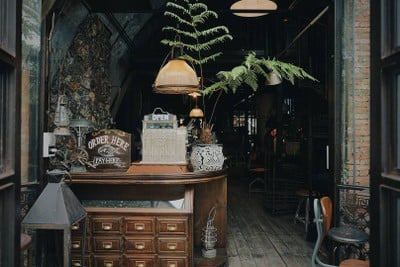 Pompano Roasted Cafe (ปอมปาโน่ โรสเตด คาเฟ่) The Camp Vintage